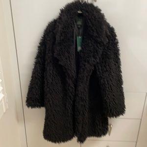 Wild fable faux lamb jacket